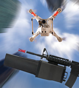 Airborne drone neutralisation - ITHPP