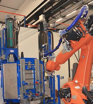 Industrial process automation and robotisation - CHAMPALLE